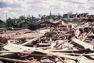 Barneveld tornado damage