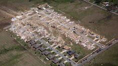 EF4 damage in Brookline, Massachusetts from the high-end EF4 tornado.