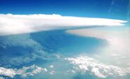 Supercell from plane