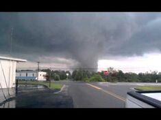 The Lorain, Ohio EF5 near peak strength.