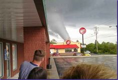 The Springfield, Tennessee Tornado at mid-end EF4 strength.