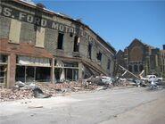 Downtown Cullman, AL EF4 damage