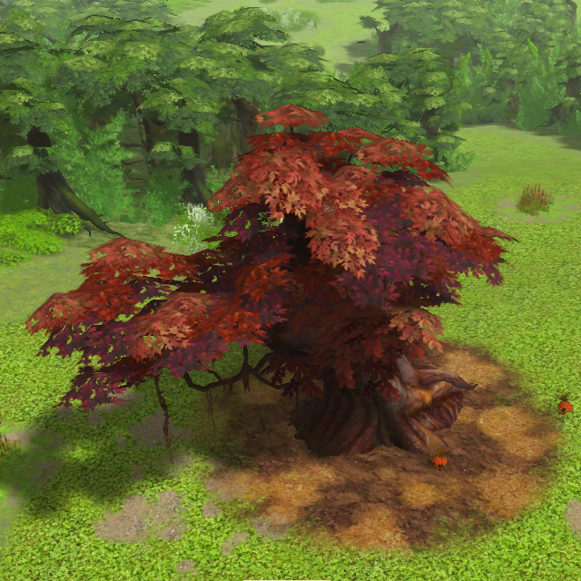 Mad Scrub Tree