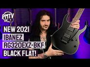 New For 2021 - Ibanez RG320EXZ-BKF - A Sleek, Stealthy, Shred Machine! - Review & Demo