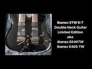 Ibanez STW 6-7 Doubleneck Limited Edition Guitar S540TW 540S-TW