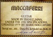 MAC10 Serial
