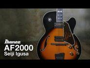 Ibanez Artstar AF2000-BS Demo by Seiji Igusa
