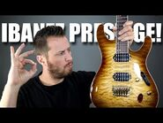 NEW GUITAR DAY!! - Unboxing an IBANEZ Prestige!
