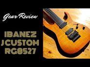 Ibanez J Custom RG8527 - REVIEW - 7 STRING GUITAR