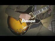 """Loosen up"" by Ikuto Shimizu with Ibanez AS2000-BS"