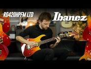 Limited Ibanez RG420HPFM, Autumn Leaf Gradation
