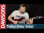Ibanez S521-BBS Review