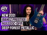 New For 2021 - Ibanez Prestige RG5320C-DFM - Forest Green Metallic - Review & Demo