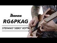 """Ibanez RG6PKAG Featuring Stefano """"Sebo"""" Xotta"""