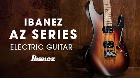 Ibanez_AZ_Electric_Guitar_-_Story_of_the_AZ