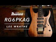 Ibanez Premium RG6PKAG-NTF featuring Lee Wrathe