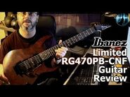 IBANEZ LIMITED RG470PB-CNF Guitar Review
