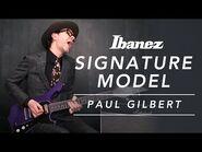 Paul Gilbert Signature Guitar Ibanez FRM300-PR