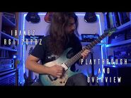 Ibanez Premium RG1120PBZ-CIF - Playthrough and Overview -