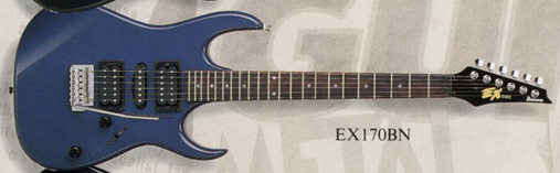 EX170 (1992–1993, rosewood fretboard)