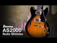 Ibanez Artstar AS2000-BS Demo by Ikuto Shimizu