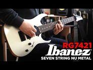Ibanez RG7421 MIJ - Seven String Nu Metal