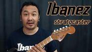 Ibanez 2375 Stratocaster Guitar (rare vintage guitar pre lawsuit era)