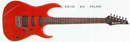EX140 (1991, agathis body)