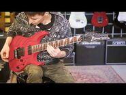 Ibanez RG420EG RPR Red Planet Red Guitar Demo (Clean, Dist)
