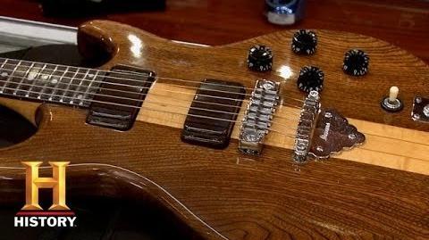 Deejayk/Ibanez guitar on Pawn Stars