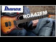 Ibanez RGA42FM Demo w- Lee Wrathe