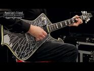 Ibanez PS1CM Paul Stanley Signature PS Series Electric Guitar, Cracked Mirror