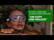 """Dschungelprüfung Tag 7 - Sie spielen sich um """"Um Kopf und Kragen"""" - Die große Dschungelshow 2021"""