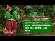 Dschungelprüfung Tag 2 - Null-Sterne-Nummer für Zoe, Frank und Mike - Die große Dschungelshow 2021