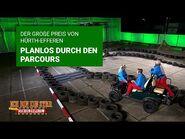 Prüfung Tag 5 - Der GP von Hürth-Efferen - planlos durch den Parcours - Die große Dschungelshow 2021