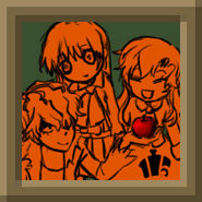 Ib, Garry, Apple and Mary 1