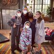 ICarly Revival Cast in pajamas 1