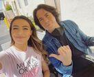 Miranda and Jerry at Paramount Studios June 4, 2021