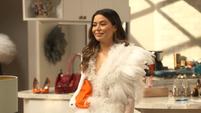 Carly in a swan dress Trailer