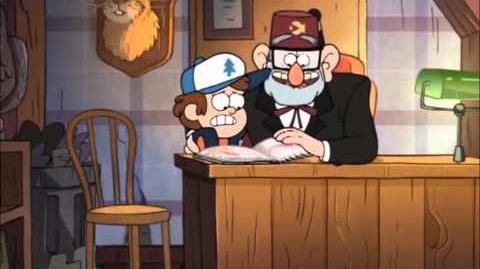 """Gravity Falls - Stan tells """"Dipper"""" where babies come from."""