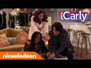 Puzzle Time w- Spencer, Mrs Benson, and Harper - iCarly Season 1 Ep 8 - NickelodeonPlus