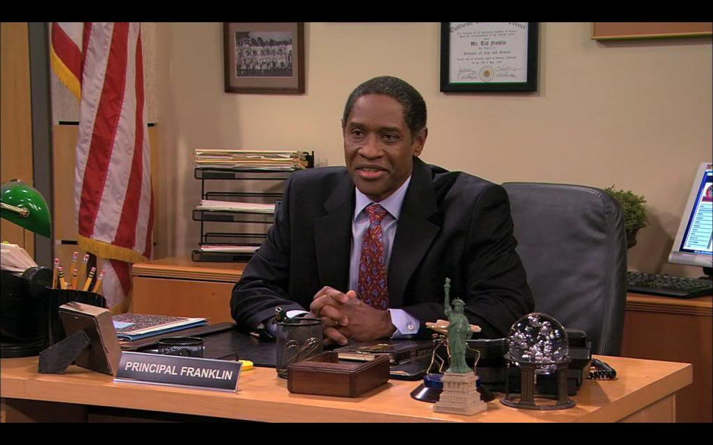 Principal Ted Franklin