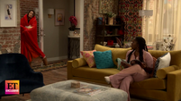 ET Carly enter's her and Harper's apartment