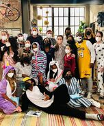 ICarly Revival Cast in pajamas 4