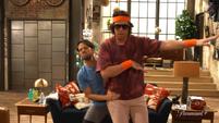 Spencer and Freddie aerobics Trailer