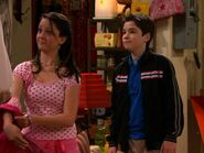 Spencer takes Valerie's Jacket