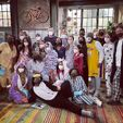 ICarly Revival Cast in pajamas 2