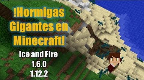 !Hormigas Gigantes en Minecraft! Ice and Fire 1.6.0-1.12