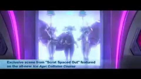 Ice Age Collision Course Short Film 'Scrat Spaced Out' Exclusive Clip