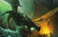 Burning Arryn fleet